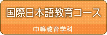 国際日本語教育コースカリキュラム